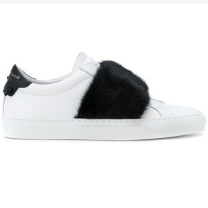 Givenchy Slip On Fur Sneaker